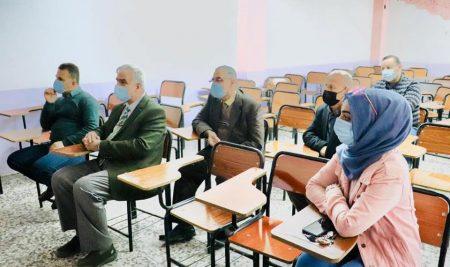 ندوة عن فحص البرامجيات في كلية النخبة الجامعة